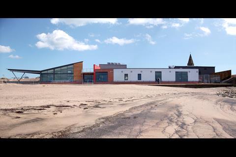 Newbiggin Marine Centre by Mosedale Gillatt Architects